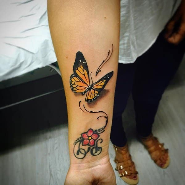923117e4e 125+ Butterfly Tattoo Ideas for Depicting Transformation - Wild ...