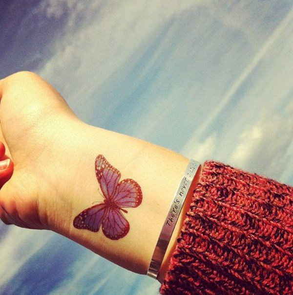 9d71f5097c331 So, opting for a cute and colorful butterfly seems a safe bet in this  context as well. butterfly tattoo design