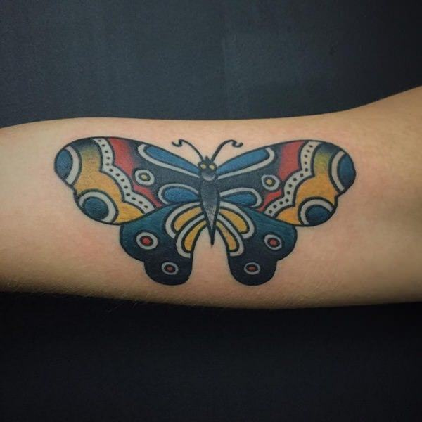 4fe6b8e324287 125+ Butterfly Tattoo Ideas for Depicting Transformation - Wild ...