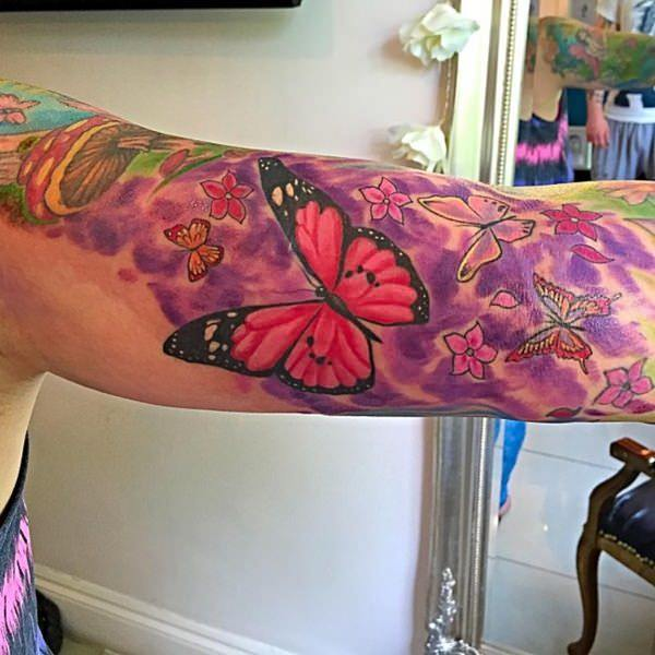 aac53f6a3e 125+ Butterfly Tattoo Ideas for Depicting Transformation - Wild ...