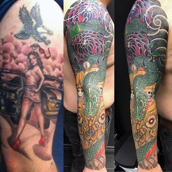 2d2061411 Cover Up Tattoos 101: Everything You Need To Know (Before & After ...