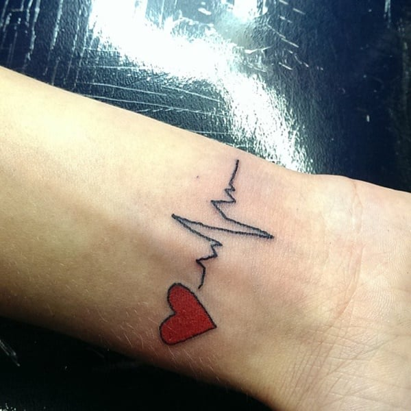 heartbeat-tattoo