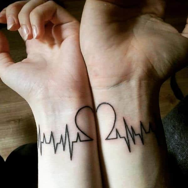 c47d0fe63618f ... along with heartbeats to make this tattoo idea special. Moreover, any  day that has changed your life upside down can also become a part of the  design to ...