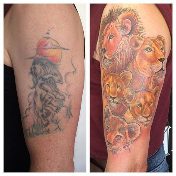 tattoo tattoos ups before designs tribal bad way easiest getting journal lions guys lion cool things cute