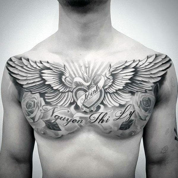 255 Best Chest Tattoos You Can Opt For 110 Will Blow Your Mind Wild Tattoo Art The placement of tattoos is a key factor to consider and chest tattoos has a way of enhancing if you are planning to get your first chest tattoo, then this post is for you. 255 best chest tattoos you can opt for