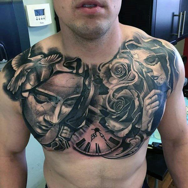255 Best Chest Tattoos You Can Opt For 110 Will Blow Your