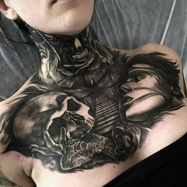 255 Best Chest Tattoos You Can Opt For 110 Will Blow Your Mind