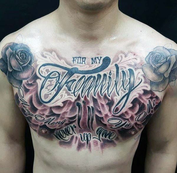 Tattoo Ideas Chest: 255+ Best Chest Tattoos You Can Opt For: #110 Will Blow