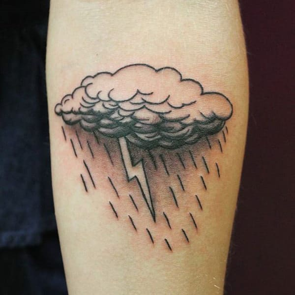 faf79f30f In this list, you will find the 20+ best cloud tattoos to help you get the  perfect tattoo.