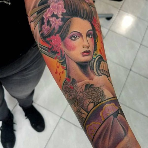 150 Geisha Tattoo Ideas Go Exotic With Meanings Wild Tattoo Art