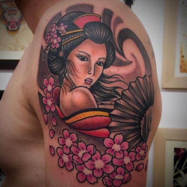 9a0462d5b 150+ Geisha Tattoo Ideas: Go Exotic ! (with Meanings) - Wild Tattoo Art