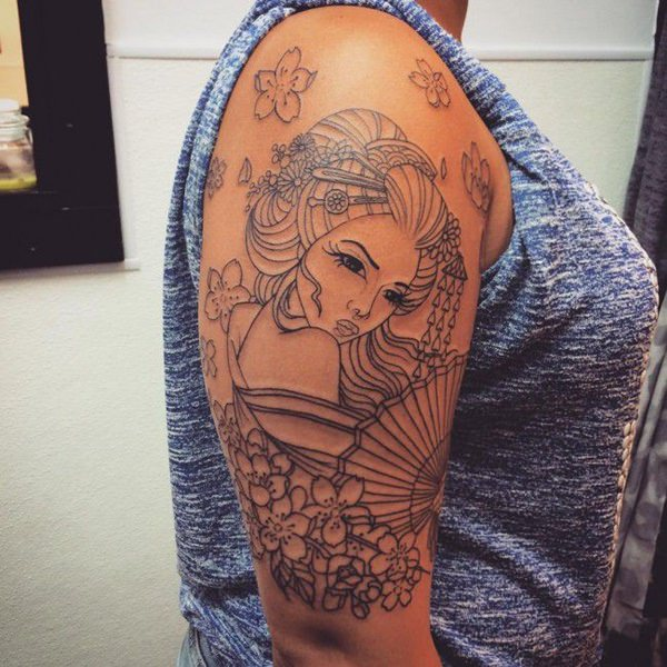 150 Geisha Tattoo Ideas Go Exotic With Meanings
