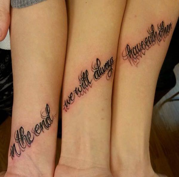 225 Wonderful Sister Tattoos Honor Your Dear Sister With Meanings