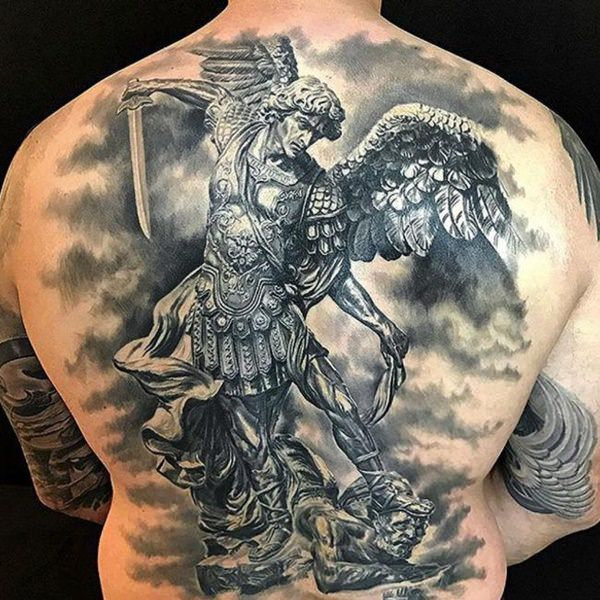 155 Saint Michael Tattoos Everything You Need To Learn With