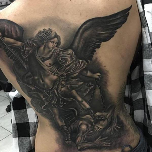ac430d910 But, before you get a Saint Michael tattoo, here is a history and everything  you may want to know about this historic, angelic personality.