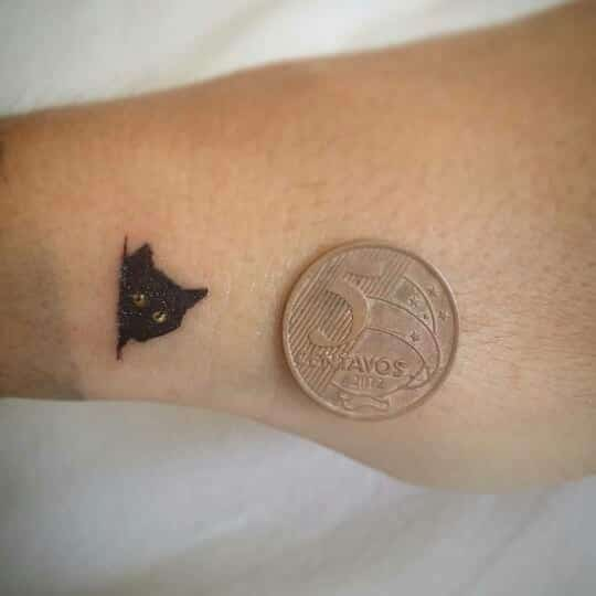 155 Extremely Adorable Cat Tattoos You Should Get This Year Wild