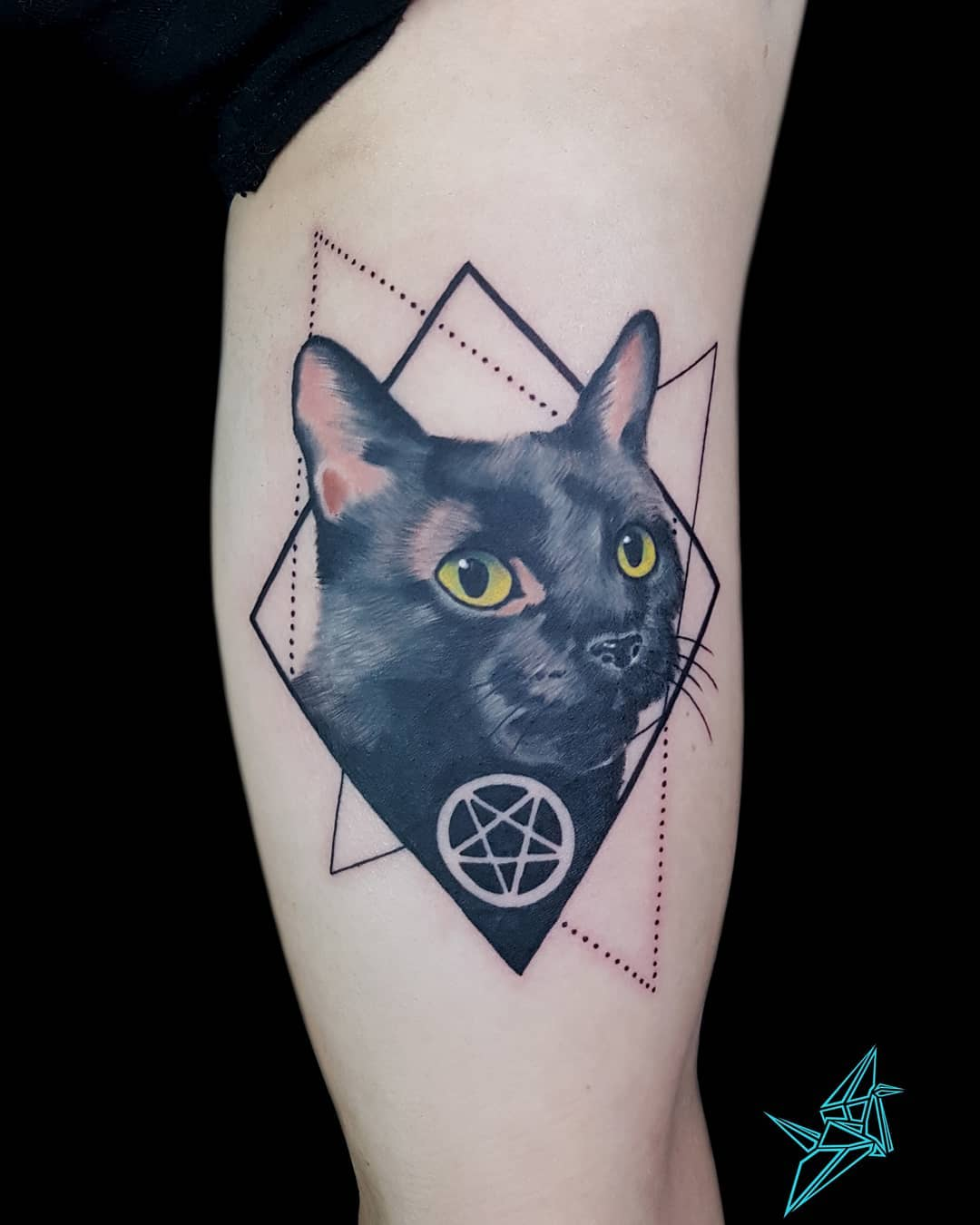 599e67920324c ... with a specific design of cat tattoo as their symbol of protest. A  symbol that could bring the power and good luck, they believe, with such  they would ...
