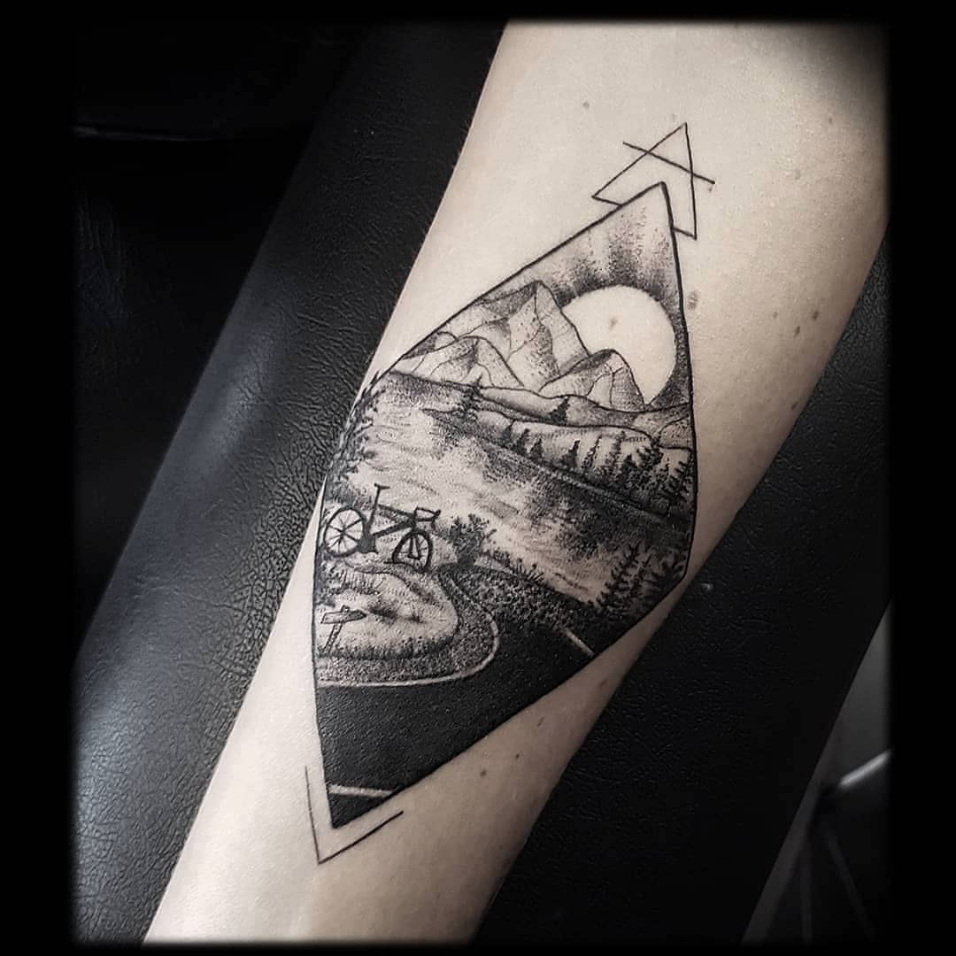 125 Best Mountain Tattoos! Lets Climb High