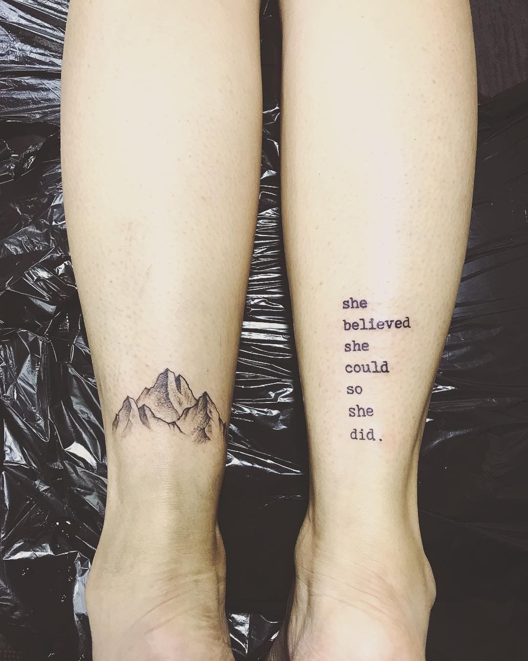 Small Mountain Tattoo: 125 Best Mountain Tattoos! Lets Climb High