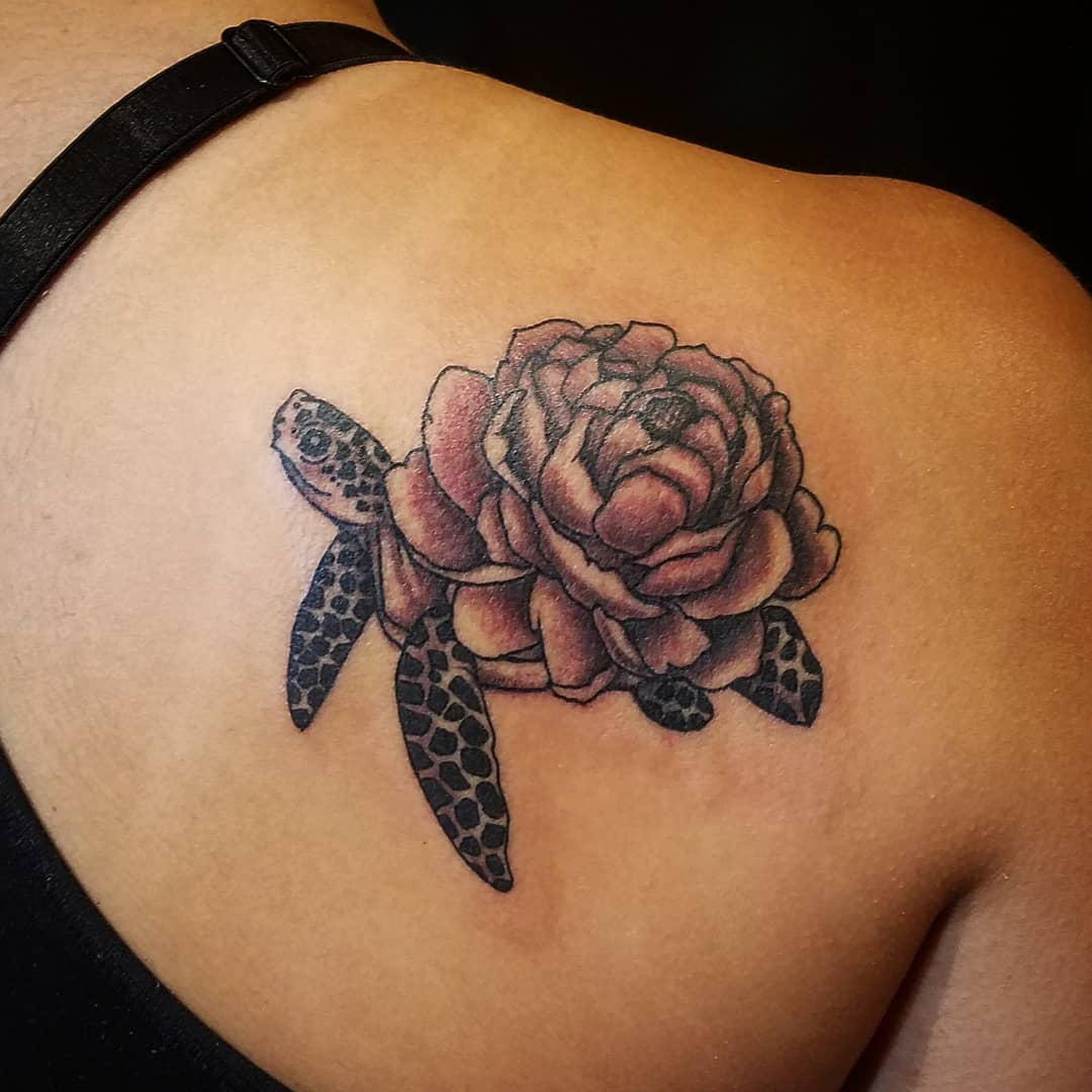 3fb911e85 125 Unique Turtle Tattoos with Meanings and Symbolisms That You Can ...