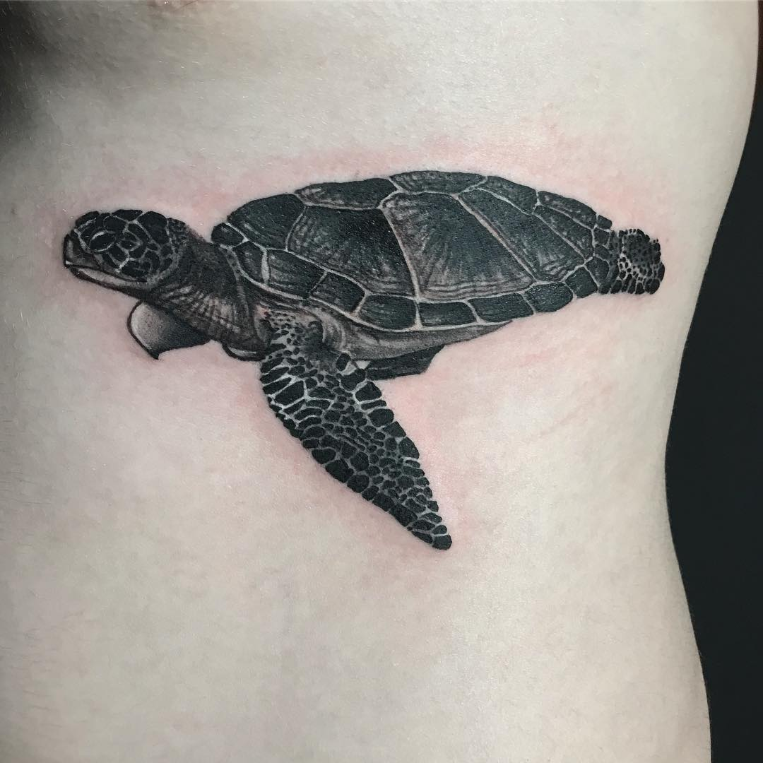 Sea Turtle Tattoos: 125 Unique Turtle Tattoos With Meanings And Symbolisms