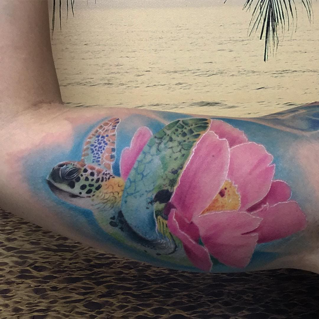125 Unique Turtle Tattoos with Meanings and Symbolisms That You Can Get This Winter! - Wild ...