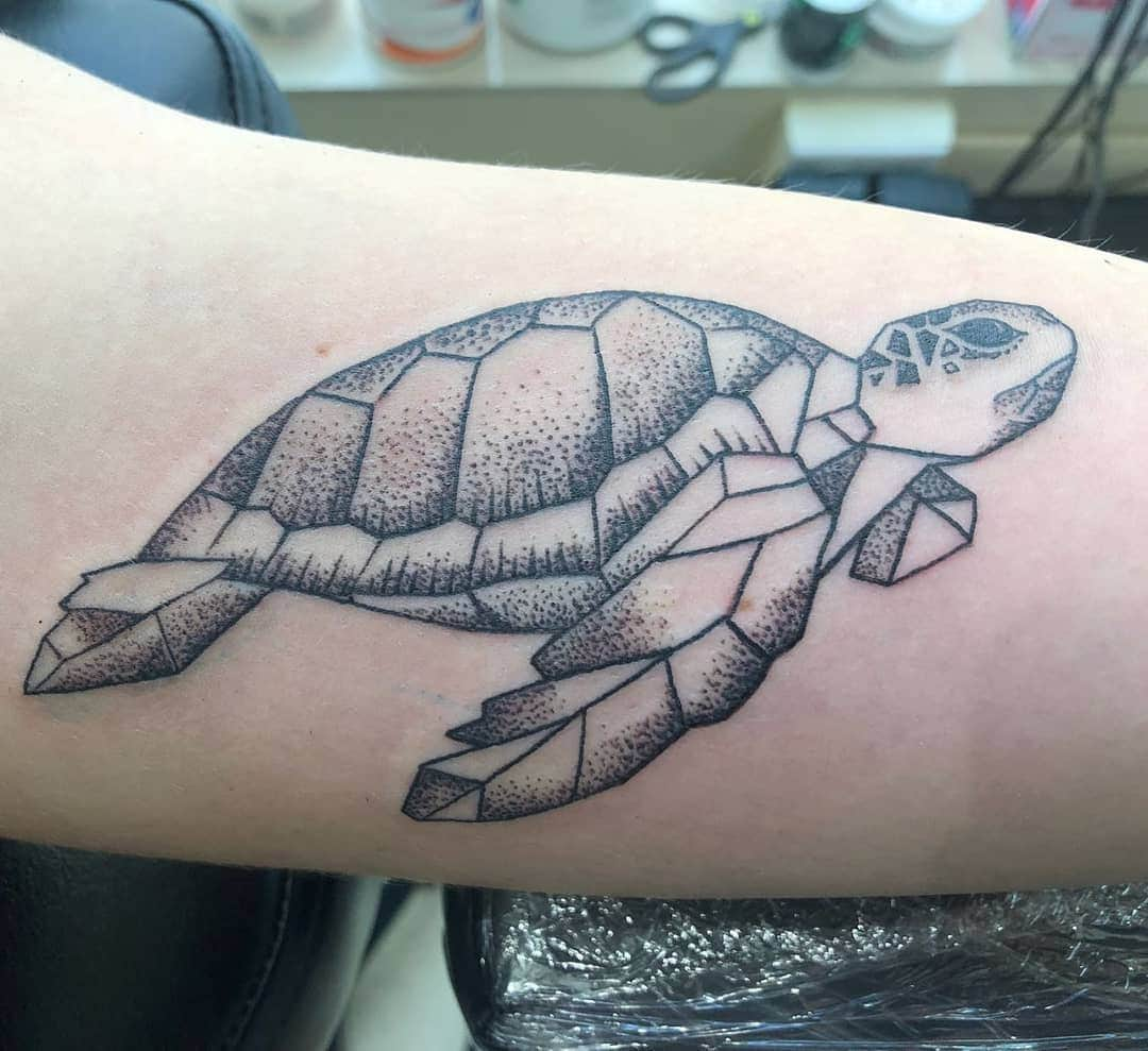 125 Unique Turtle Tattoos with Meanings and Symbolisms That