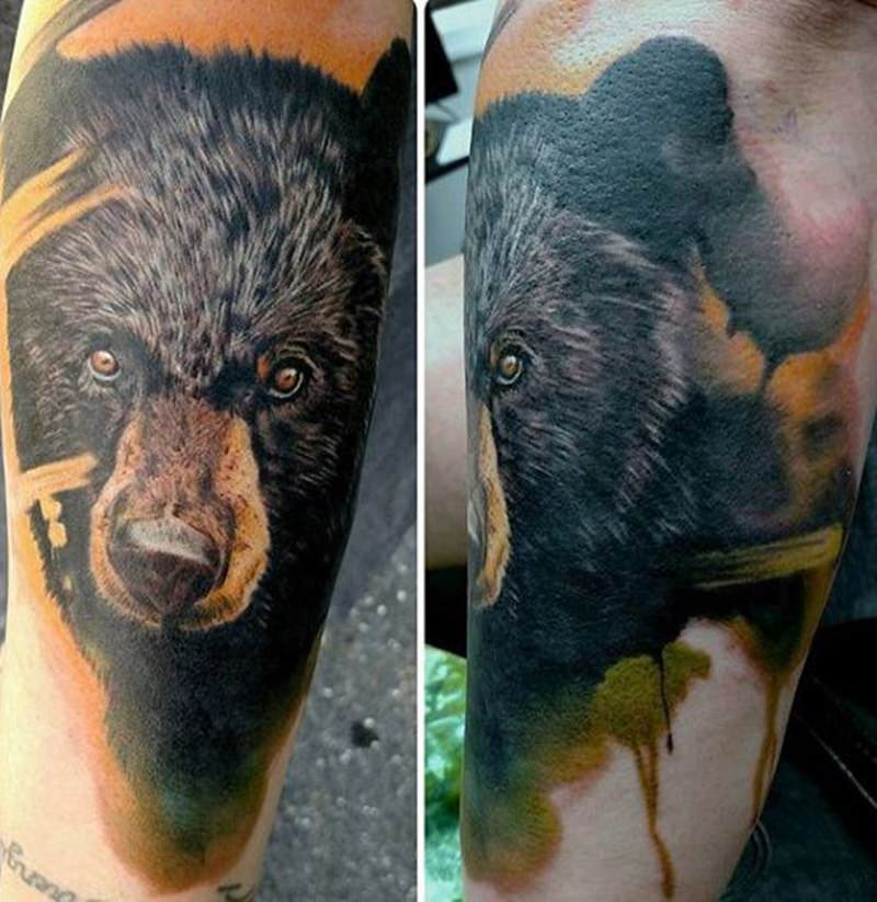 d1feca0fa29b7 Here are some of the exciting bear tattoo designs to help you get started.