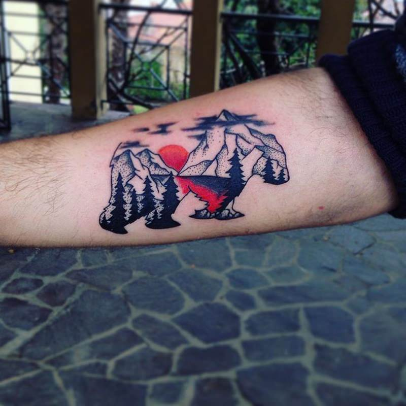 125 Unique Bear Tattoo Designs A Sign Of Diversity Wild Tattoo Art