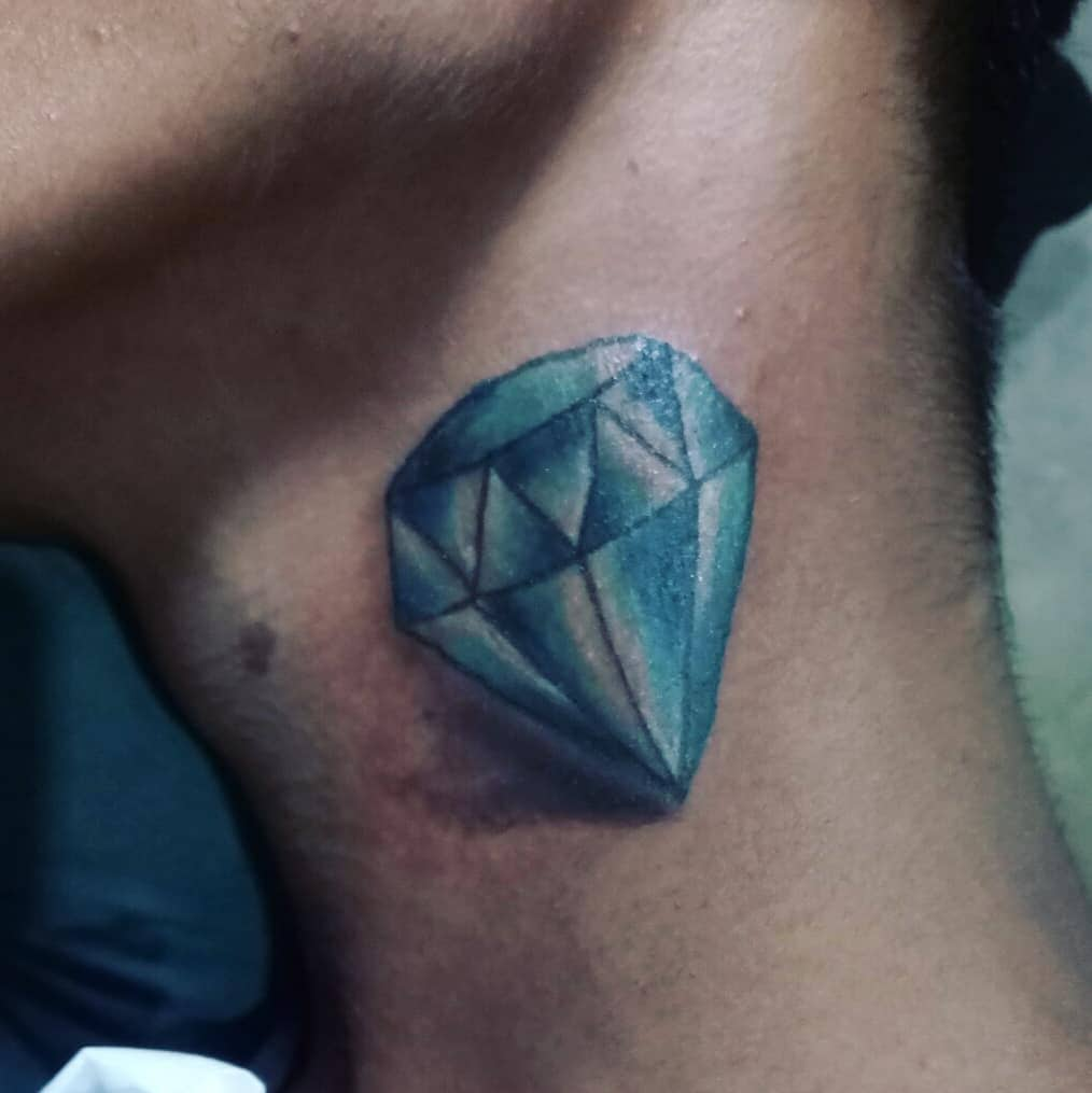125 Diamond Tattoos \u2013 Diamonds Are Forever [2019 Designs