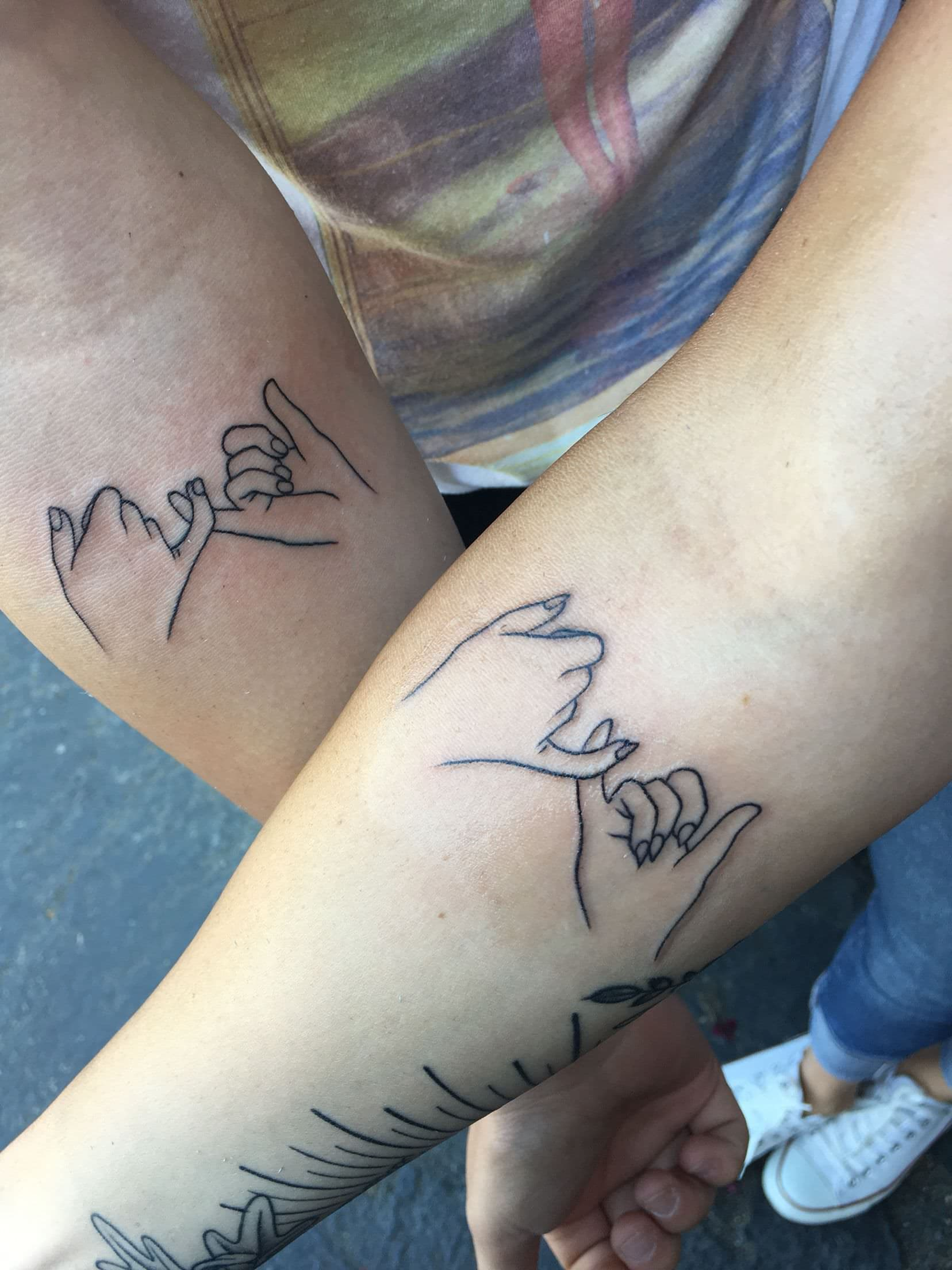 Pinky Promise Mother Daughter Tattoo