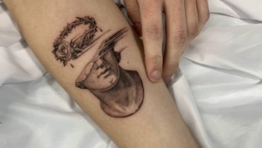 The Rose Crown of Thorns Tattoo