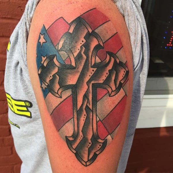 125 Best Cross Tattoos You Can Try Meanings Wild Tattoo Art