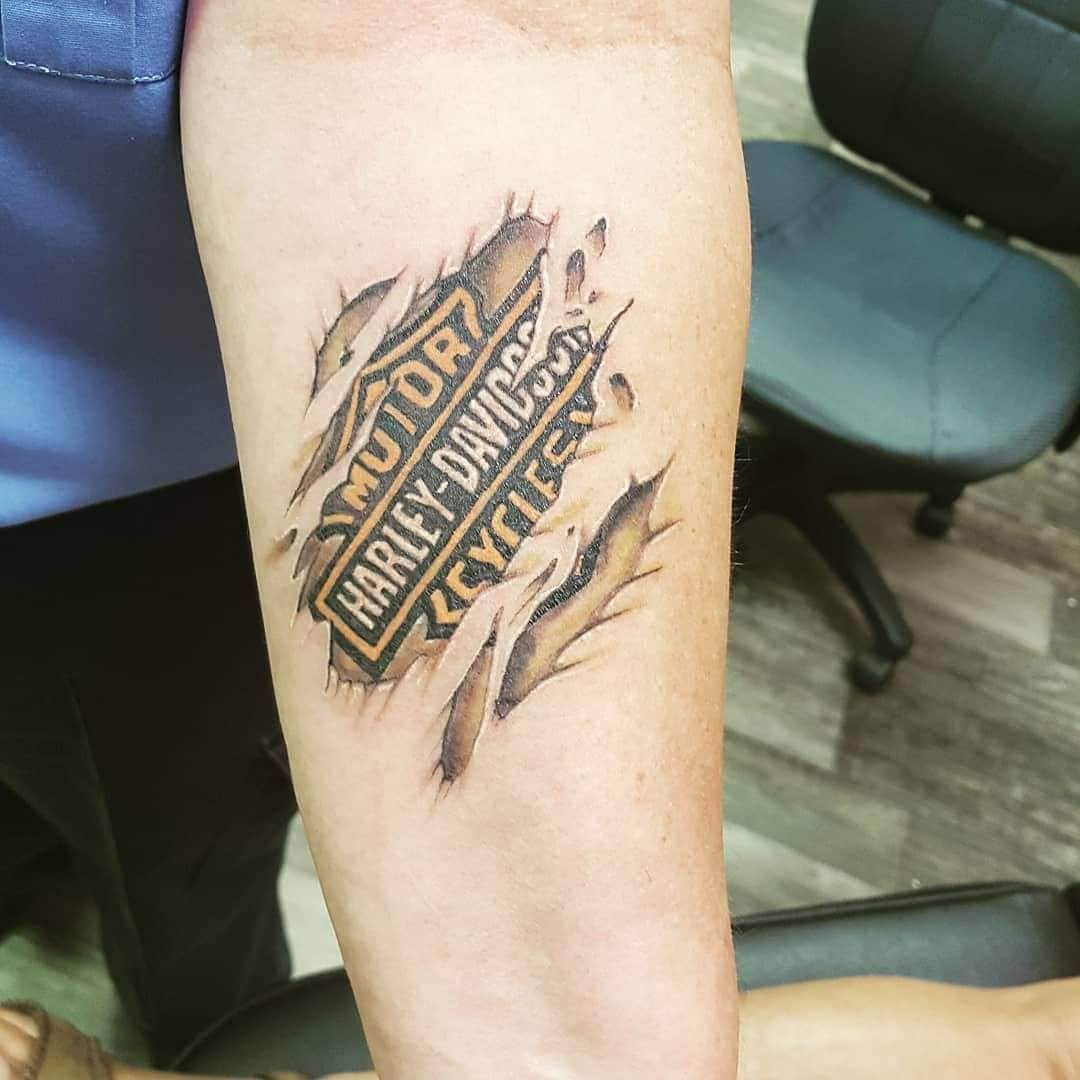 125 Harley Davidson Tattoos Unleash The Biker Within You Wild