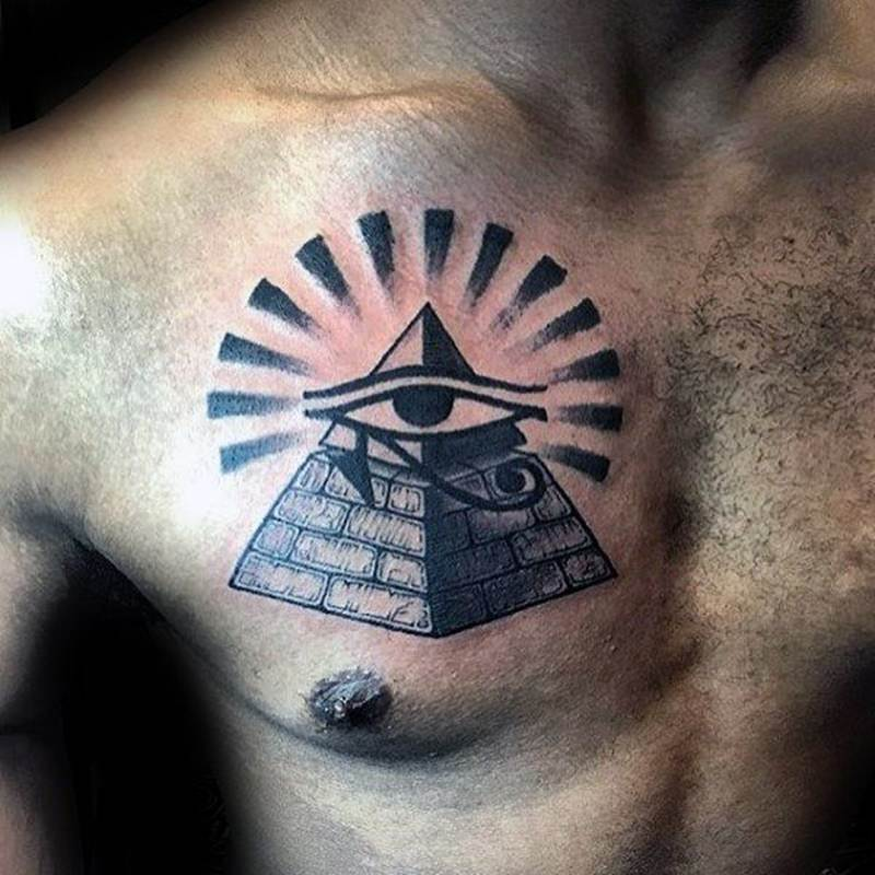 55 Pyramid Tattoos Invoke The Spirit Of Egypt Wild Tattoo Art