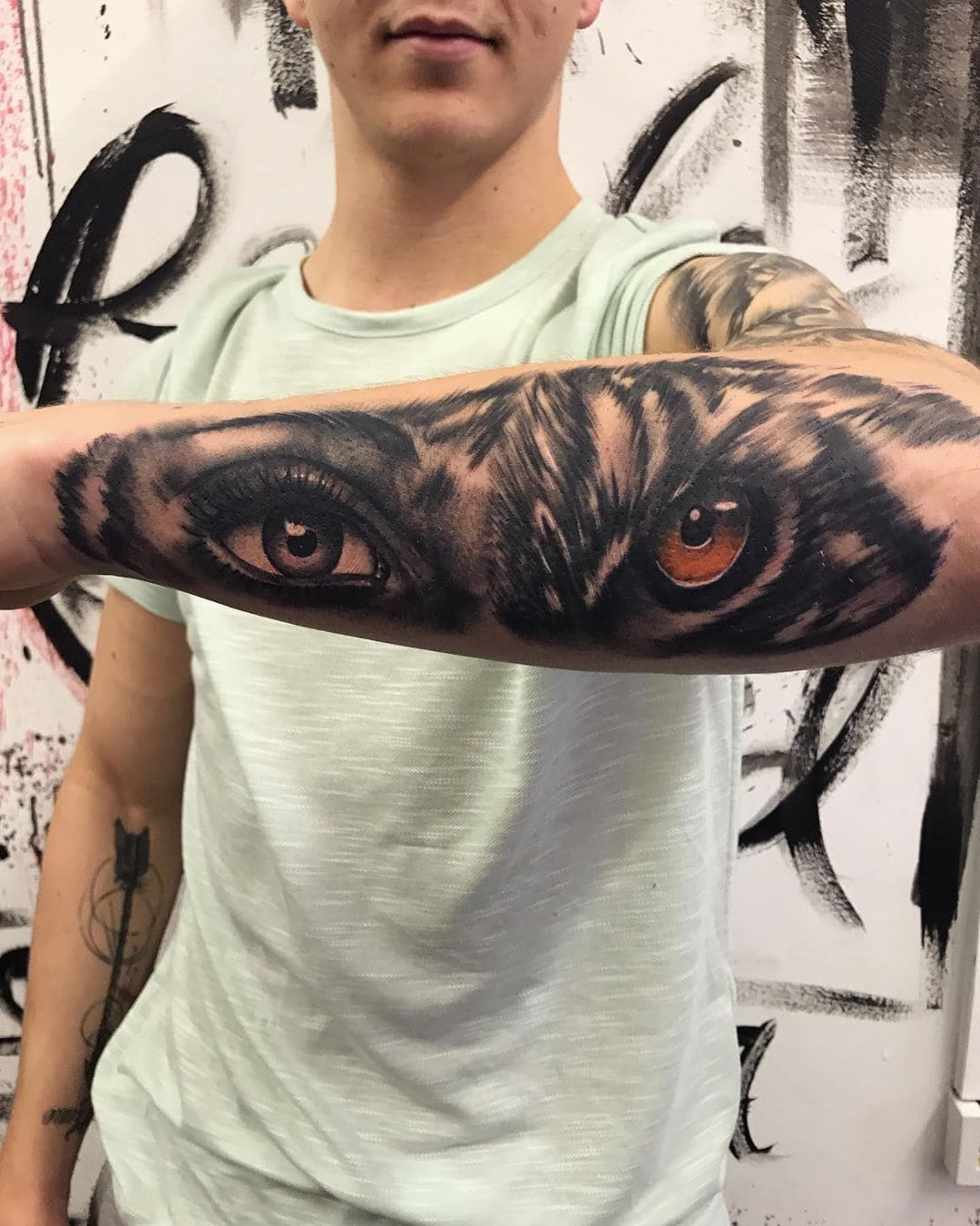 tiger eye tattoo