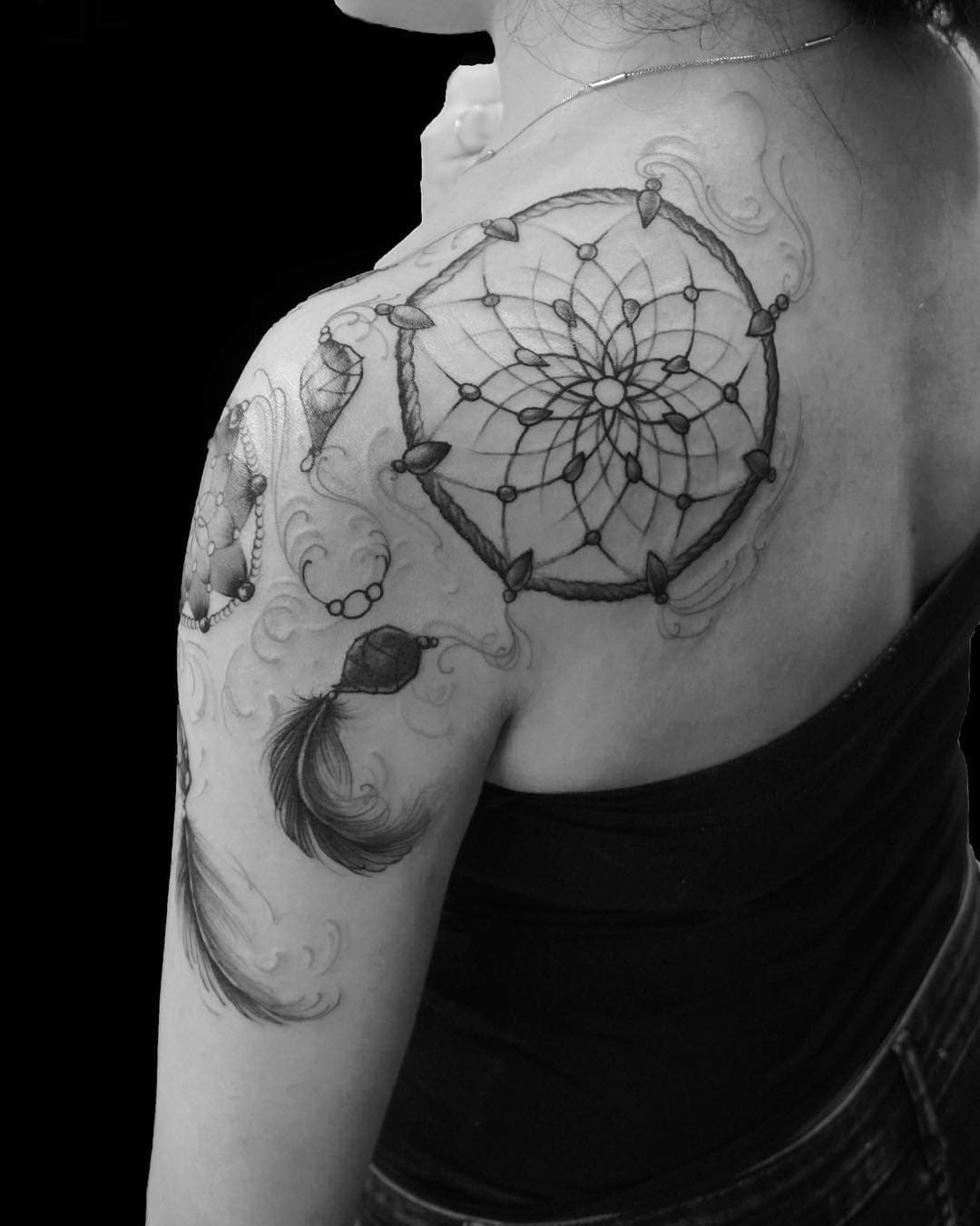dreamcatcher tattoo