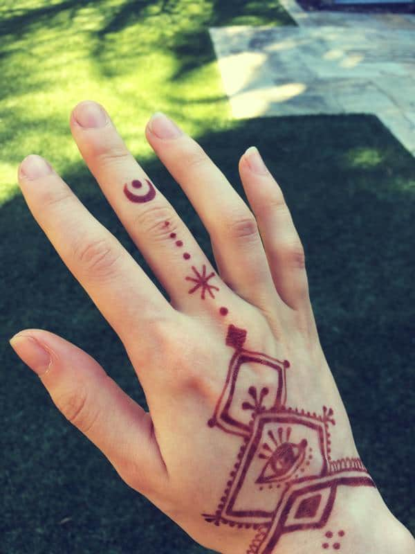 Henna Tattoo And Nut Allergy: Henna Tattoos: Everything You Need To Know [+100 Great