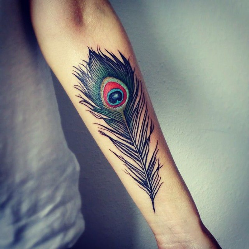 Peacock Tattoo: 125 Pretty Peacock Tattoos You Can Try