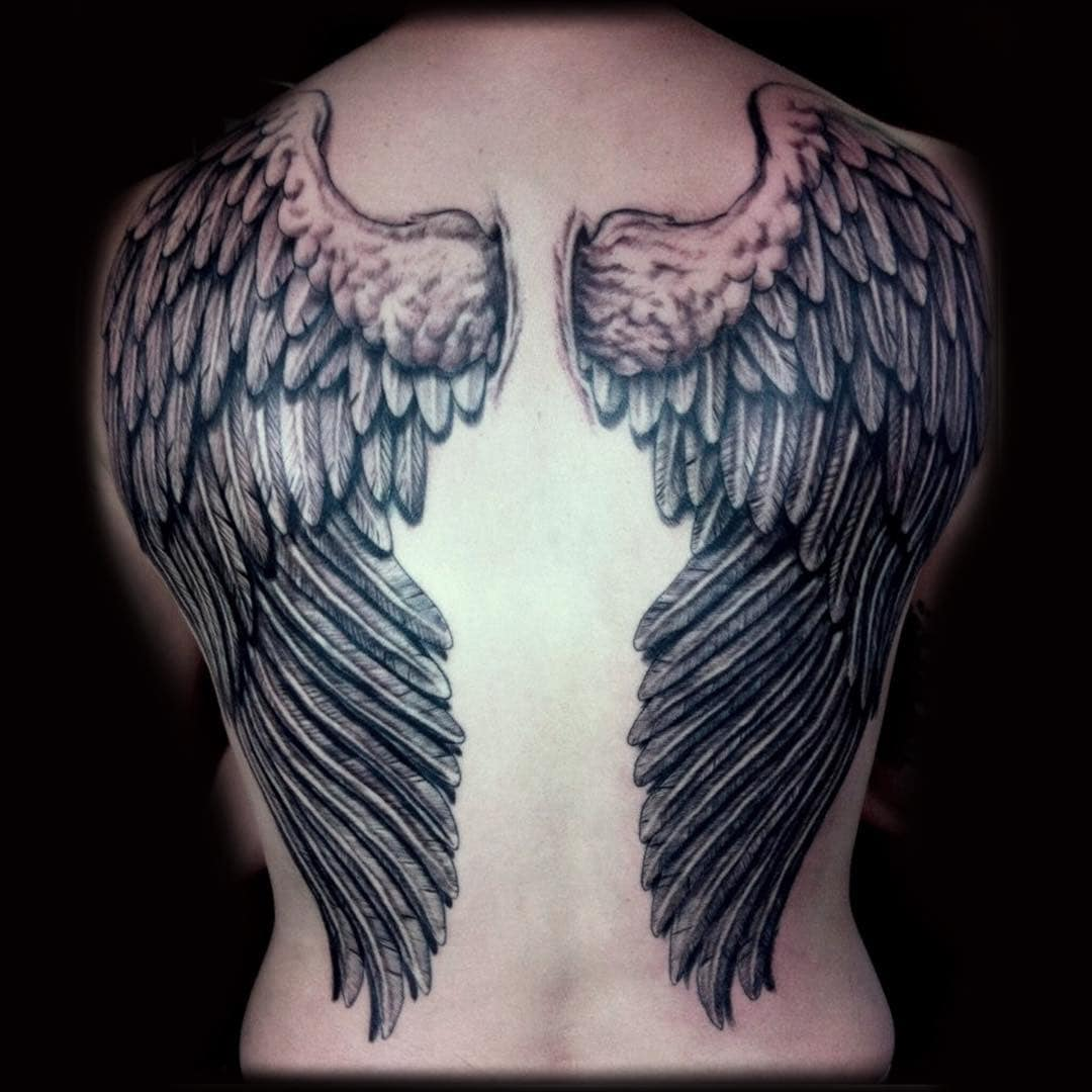 128 Amazing Wing Tattoos To Adorn Your Skin Wild Tattoo Art We have collected 100 angel wings tattoos with different designs on different body parts for you to choose the perfect design for your next ink. 128 amazing wing tattoos to adorn your