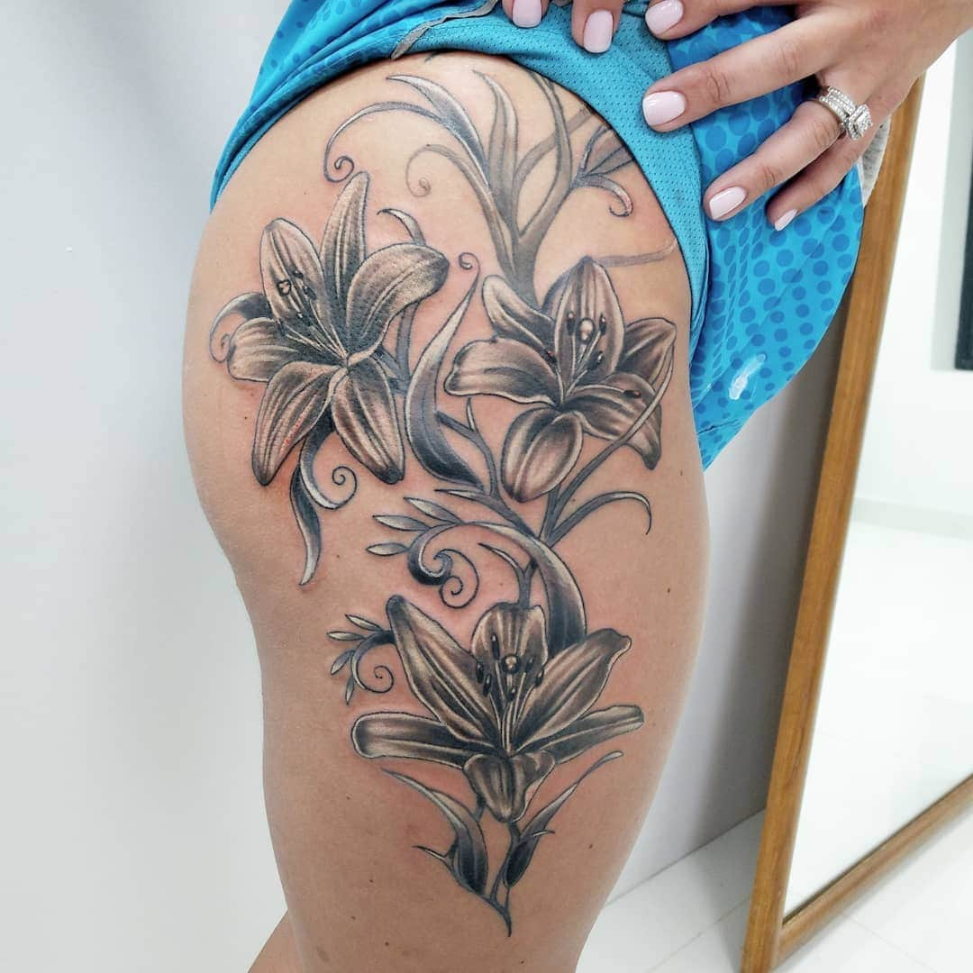Flower Tattoos Designs Ideas And Meaning: 125+ Flower Tattoo Ideas That You Can Try (with Meanings
