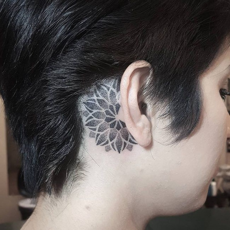 150 Behind The Ear Tattoos That Will Blow Your Mind Wild Tattoo Art These illustrations can be approached from a variety of. 150 behind the ear tattoos that will