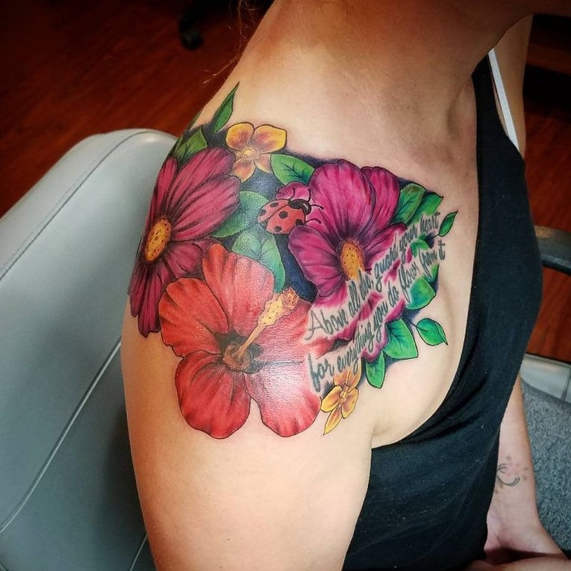 125 Hibiscus Tattoos That Will Mesmerize People Around