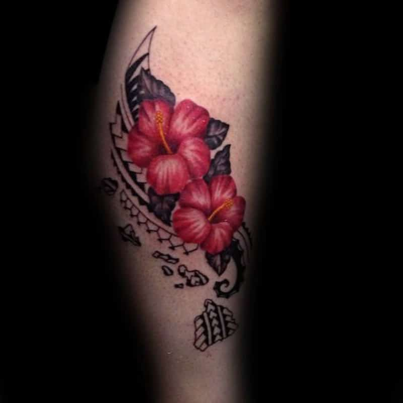 24 Hibiscus Flower Tattoos Designs Trends Ideas: 125+ Hibiscus Tattoos That Will Mesmerize People Around