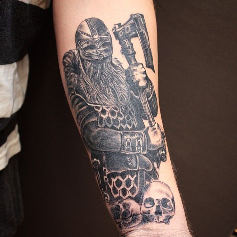 125 Nordic Viking Tattoos You Will Love With Meanings Wild