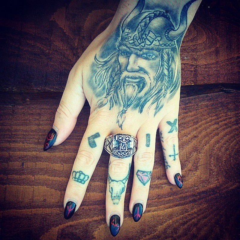 d15443070 125 Nordic (Viking) Tattoos You Will Love (with Meanings) - Wild ...