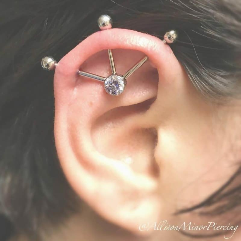 Three-Point Piercing
