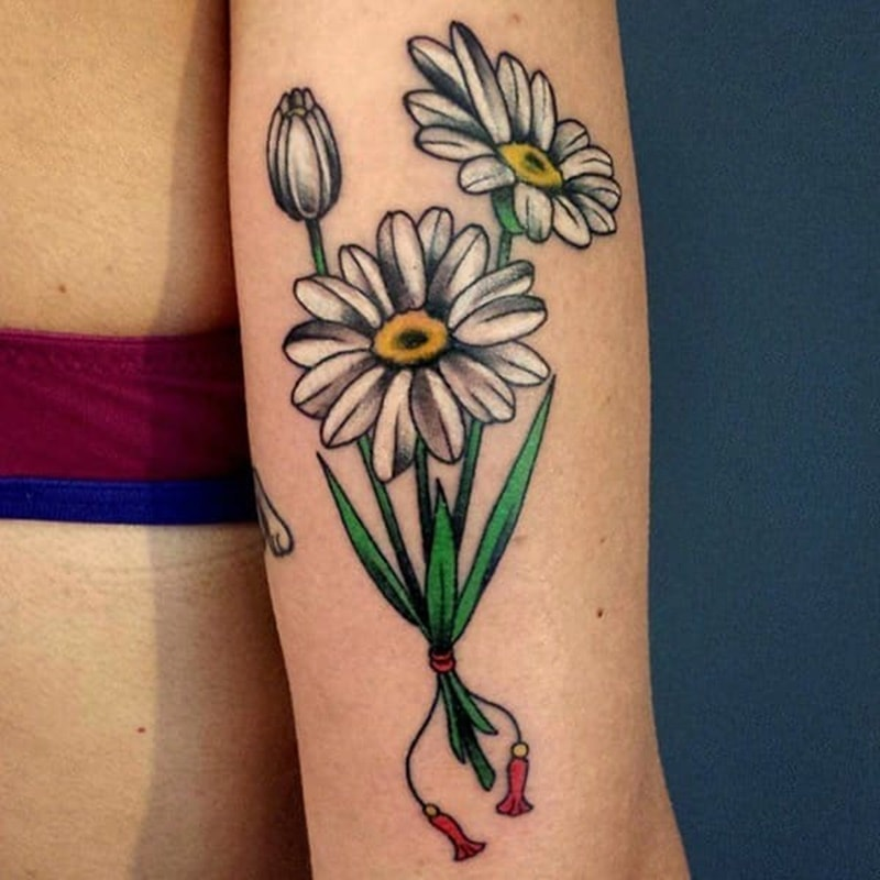 125 Daisy Tattoo Ideas You Can Go For Meanings Wild