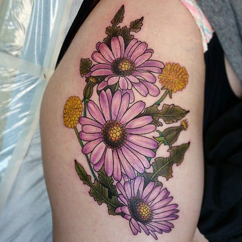 125+ Daisy Tattoo Ideas You Can Go For [+ Meanings]