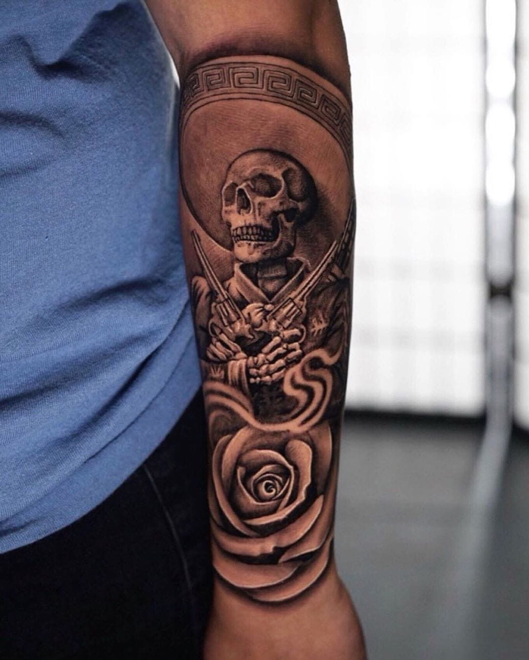 Mexican Aztec Tattoo